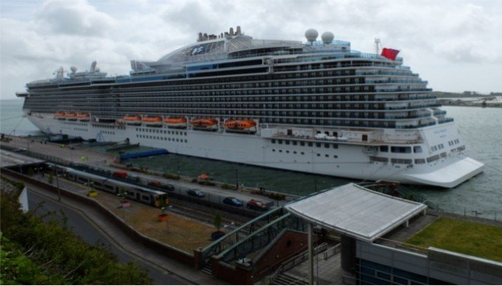 Cruise Ship at Cobh
