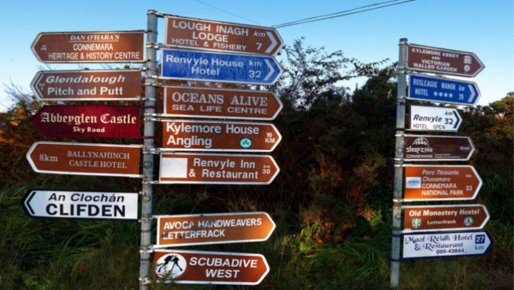 Irish Signposts